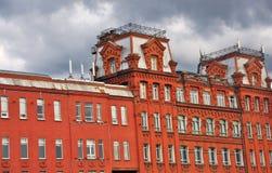 Κόκκινος Οκτώβριος σύνθετος στη Μόσχα στοκ φωτογραφίες