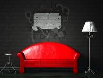 κόκκινος παφλασμός κανα&pi απεικόνιση αποθεμάτων