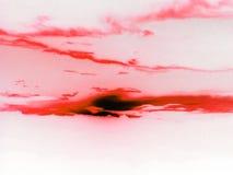 κόκκινος παφλασμός χρώματ& Στοκ Εικόνες
