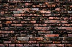 Κόκκινος παλαιός τουβλότοιχος Στοκ εικόνες με δικαίωμα ελεύθερης χρήσης