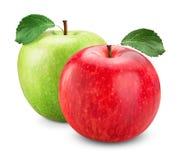Κόκκινος πράσινος της Apple Στοκ Φωτογραφίες