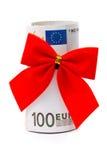 κόκκινος ρόλος χρημάτων τόξ& Στοκ φωτογραφίες με δικαίωμα ελεύθερης χρήσης