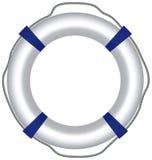 Κόκκινος σημαντήρας ζωής, που απομονώνεται στο άσπρο υπόβαθρο Στοκ εικόνες με δικαίωμα ελεύθερης χρήσης