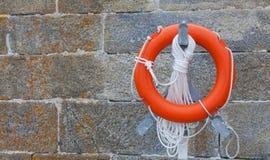 Κόκκινος σημαντήρας ζωής Στοκ εικόνα με δικαίωμα ελεύθερης χρήσης