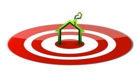 κόκκινος στόχος κεντρικ Στοκ φωτογραφίες με δικαίωμα ελεύθερης χρήσης