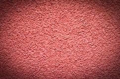 Κόκκινος συμπαγής τοίχος, ασβεστοκονίαμα σύστασης επιφάνειας για το υπόβαθρο Στοκ φωτογραφία με δικαίωμα ελεύθερης χρήσης