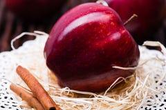 Κόκκινος σχολιάστε το μήλο Στοκ φωτογραφία με δικαίωμα ελεύθερης χρήσης