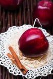 Κόκκινος σχολιάστε το μήλο Στοκ Εικόνα