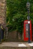 Κόκκινος τηλεφωνικός θάλαμος, συμβολικός αγγλικός κόκκινος θάλαμος, εικονίδιο της Αγγλίας, γ στοκ εικόνες με δικαίωμα ελεύθερης χρήσης