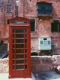 Κόκκινος τηλεφωνικός θάλαμος Στοκ φωτογραφίες με δικαίωμα ελεύθερης χρήσης