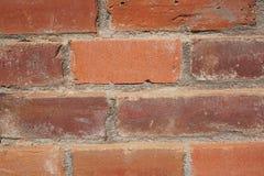 κόκκινος τοίχος λεπτομέ&r Στοκ φωτογραφία με δικαίωμα ελεύθερης χρήσης