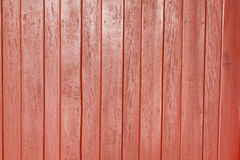 κόκκινος τοίχος ξύλινος Στοκ Φωτογραφίες