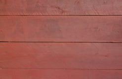 κόκκινος τοίχος ξύλινος Στοκ Εικόνες