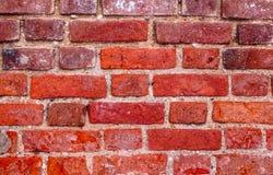 κόκκινος τοίχος τεμαχίων Στοκ εικόνα με δικαίωμα ελεύθερης χρήσης