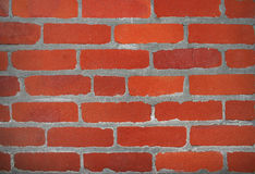 κόκκινος τοίχος τούβλου στοκ εικόνα με δικαίωμα ελεύθερης χρήσης