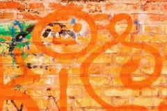 κόκκινος τοίχος τούβλου Στοκ εικόνες με δικαίωμα ελεύθερης χρήσης