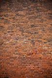 κόκκινος τοίχος τούβλο&ups στοκ εικόνα