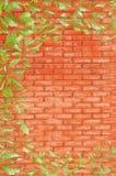 κόκκινος τοίχος τούβλο&ups Στοκ φωτογραφία με δικαίωμα ελεύθερης χρήσης