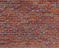 κόκκινος τοίχος τούβλο&ups Στοκ Φωτογραφία