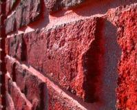 κόκκινος τοίχος τούβλο&ups Στοκ εικόνες με δικαίωμα ελεύθερης χρήσης
