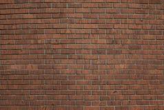 κόκκινος τοίχος τούβλων Στοκ Φωτογραφίες