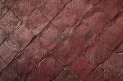 κόκκινος τοίχος τούβλο&ups Στοκ Εικόνες