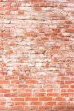 κόκκινος τοίχος τούβλο&ups Στοκ Φωτογραφίες