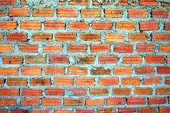 Κόκκινος τοίχος blick Στοκ Εικόνα