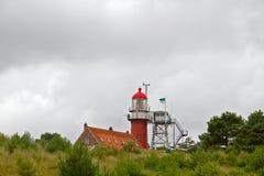 Κόκκινος φάρος Στοκ φωτογραφία με δικαίωμα ελεύθερης χρήσης
