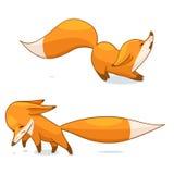 Κόκκινος χαρακτήρας αλεπούδων Στοκ Εικόνες