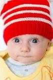 κόκκινος χειμώνας καπέλω& Στοκ φωτογραφία με δικαίωμα ελεύθερης χρήσης