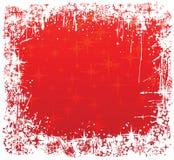 κόκκινος χειμώνας πλαισί&o διανυσματική απεικόνιση