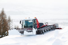 Κόκκινος χειμώνας ratrak Στοκ Φωτογραφία