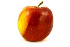 Κόκκινος όμορφος της Apple που απομονώνεται στο άσπρο υπόβαθρο Στοκ Φωτογραφία