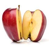 κόκκινος ώριμος μήλων Στοκ Φωτογραφίες