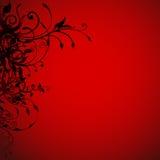 κόκκινος s ανασκόπησης βα&l διανυσματική απεικόνιση