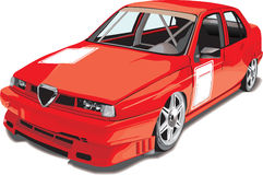 κόκκινος sportcar ελεύθερη απεικόνιση δικαιώματος