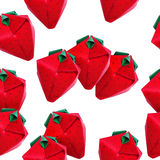 Κόκκινος strawberriy Origami Στοκ εικόνα με δικαίωμα ελεύθερης χρήσης