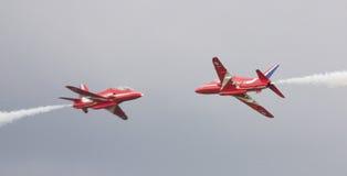 κόκκινος synchro ζευγαριού β&epsil Στοκ Εικόνα