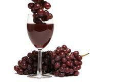 κόκκινο άσπρο κρασί σταφυλιών ανασκόπησης Στοκ εικόνα με δικαίωμα ελεύθερης χρήσης