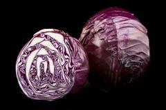 Κόκκινο λάχανο Στοκ Φωτογραφία