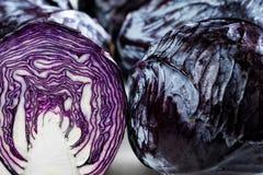 Κόκκινο λάχανο Στοκ φωτογραφίες με δικαίωμα ελεύθερης χρήσης