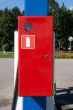 κόκκινο έκτακτης ανάγκης &k Στοκ φωτογραφία με δικαίωμα ελεύθερης χρήσης