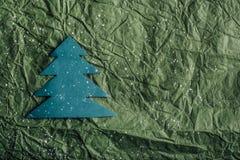 κόκκινο δέντρο εγγράφου απεικόνισης Χριστουγέννων ανασκόπησης Στοκ Εικόνα