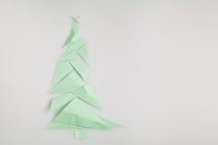 κόκκινο δέντρο εγγράφου απεικόνισης Χριστουγέννων ανασκόπησης Στοκ Εικόνες