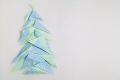 κόκκινο δέντρο εγγράφου απεικόνισης Χριστουγέννων ανασκόπησης Στοκ φωτογραφίες με δικαίωμα ελεύθερης χρήσης