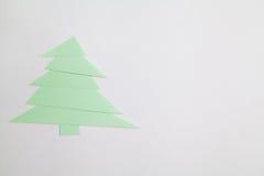 κόκκινο δέντρο εγγράφου απεικόνισης Χριστουγέννων ανασκόπησης Στοκ Φωτογραφίες