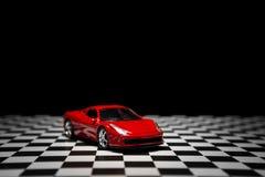 Κόκκινο αθλητικό αυτοκίνητο Στοκ Φωτογραφίες