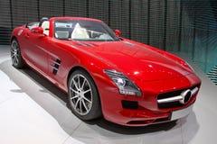 Κόκκινο αθλητικό αυτοκίνητο Στοκ εικόνα με δικαίωμα ελεύθερης χρήσης