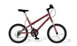 Κόκκινο αθλητικό ποδήλατο Στοκ φωτογραφία με δικαίωμα ελεύθερης χρήσης
